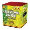 Torta Crisantemos Dorados con Cracker